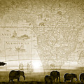 Old World Africa Antique Sunset by Dana Bennett