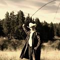 Old World Cowboy by Ruth Eich