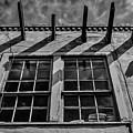 Old Worn Santa Fe Window by Garry Gay