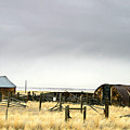 Old Wyoming Farm by Anthony Jones