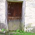Old Yingling Flour Mill Door by Don Struke