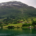 Olden Fjord, Norway by Quintin Rayer
