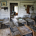 Oldest School House C. 1863 - Montana Territory by Daniel Hagerman