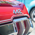 Olds 442 Classic Car by Mike Reid