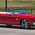 Oldsmobile Delta Royale 88 Red Convertible by Steven Ralser