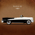 Oldsmobile Super 88 1955 by Mark Rogan