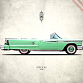 Oldsmobile Super 88 1958 by Mark Rogan