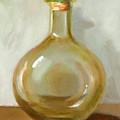 Olive Oil Bottle Still Life  by Joni Dipirro