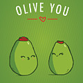 Olive You by Tanner Thompson and Matthew Nightingale