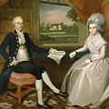 Oliver And Abigail Wolcott Ellsworth 1801 by Earl Ralph