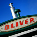 Oliver Tractor Nameplate by Olivier Le Queinec