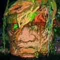 Olmec Man by David Lee Thompson