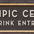 Olympic Center 1932 Rink Entrance by Stephen Stookey