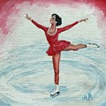 Olympic Figure Skater by ML McCormick