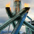 Olympic Flame by Chris Dutton
