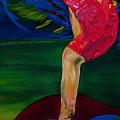 Olympic Gymnast Nastia Liukin  by Gregory Allen Page