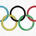 Olympic Rings Pencil by Edward Fielding
