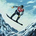 Olympic Snowboarder by ML McCormick