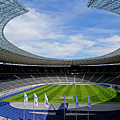 Olympic Stadium Berlin by Juergen Weiss