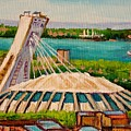 Olympic Stadium  Montreal by Carole Spandau