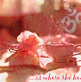 Om Is Where The Heart Is 2016 by Kathryn Strick