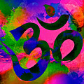 Om Symbol, Rainbow, Ver2 by Lita Kelley