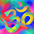 Om Symbol, Rainbow. Ver3 by Lita Kelley