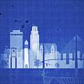 Omaha Blueprint Skyline by Dim Dom