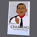 Omazing Obama 1.0 by Shirley Whitaker