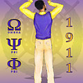 Omega Psi Phi by BFly Designs