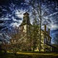 Ominous Batsto Mansion by Nick Zelinsky