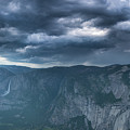 Ominous Clouds Over Glacier Point by Michael Ver Sprill