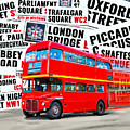On A Bus For London by Mark Tisdale