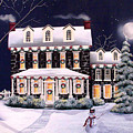 On A Cold Winter Evening by Catherine Holman