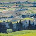 On A Field Of Dandelions by Francois Fournier