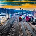 On A Suffern Railroad Track by Jim DeLillo