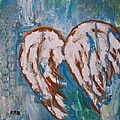 On Angel Wings by Mary Mirabal