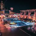 On Board A Large Cruise Ship In Alaska by Alex Grichenko
