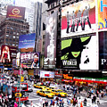 On Broadway New York by Rosie Brown