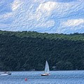 On Cayuga Lake by David Lane