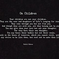 On Children by L Bee