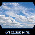 On Cloud Nine - Black by Gill Billington