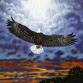 On Eagles Wings by John Lautermilch