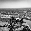 On Guard At Point Park Lookout Mountain In Tennessee by Pete Wardrope