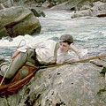 On His Holidays by John Singer Sargent