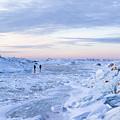 On Lake Michigan Ice by Charles Norkoli