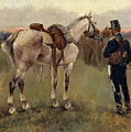 On Patrol In The Country by Josep Cusachs