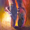 On Pointe At Sunrise by Ann Radley