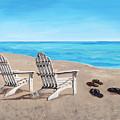 On The Shore by Masha Batkova