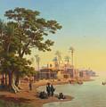 On The Banks Of The Nile by Johann Jakob Frey